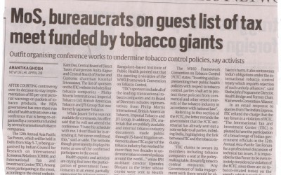 A consultation for tax reform or a platform to push tobacco industry's interests forward?