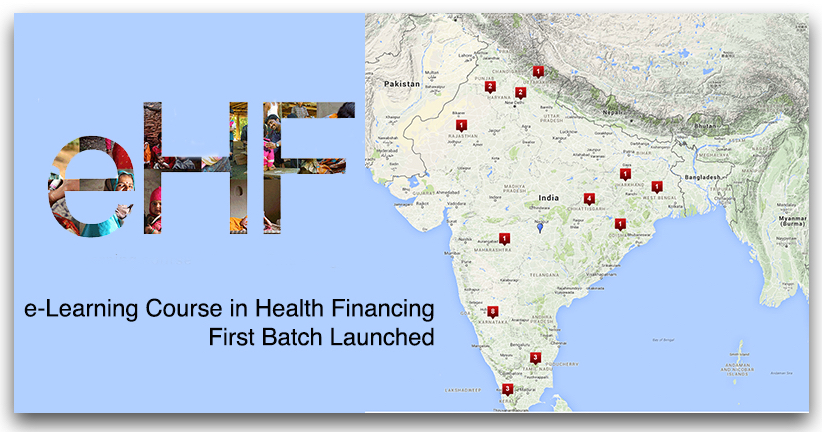 e-Learning Course in Health Financing: First Batch Launched