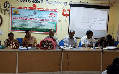 Training for Medical Officer's – National Program for Prevention and Control of Diabetes, Cardio Vascular Diseases and Stroke