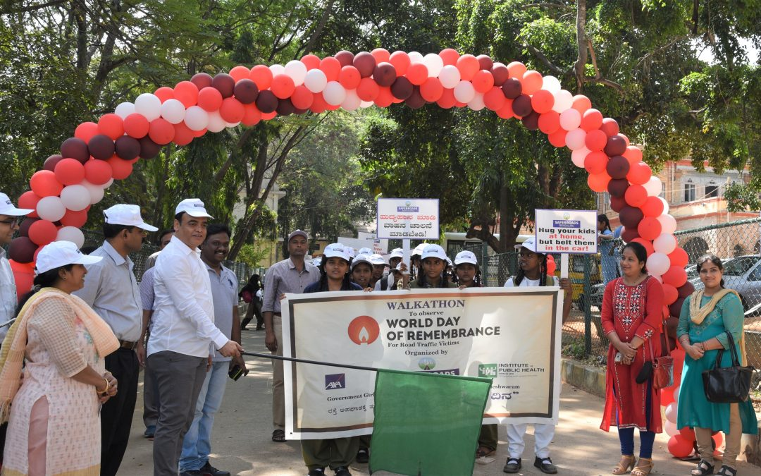 A WALKATHON to mark World Day of Remembrance for road traffic victims