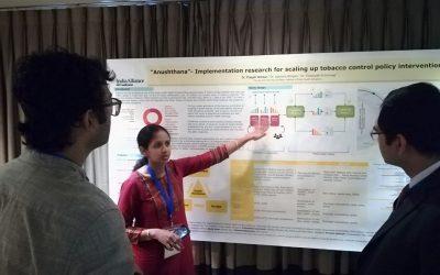 Poster presentation at GCIS, Dhaka