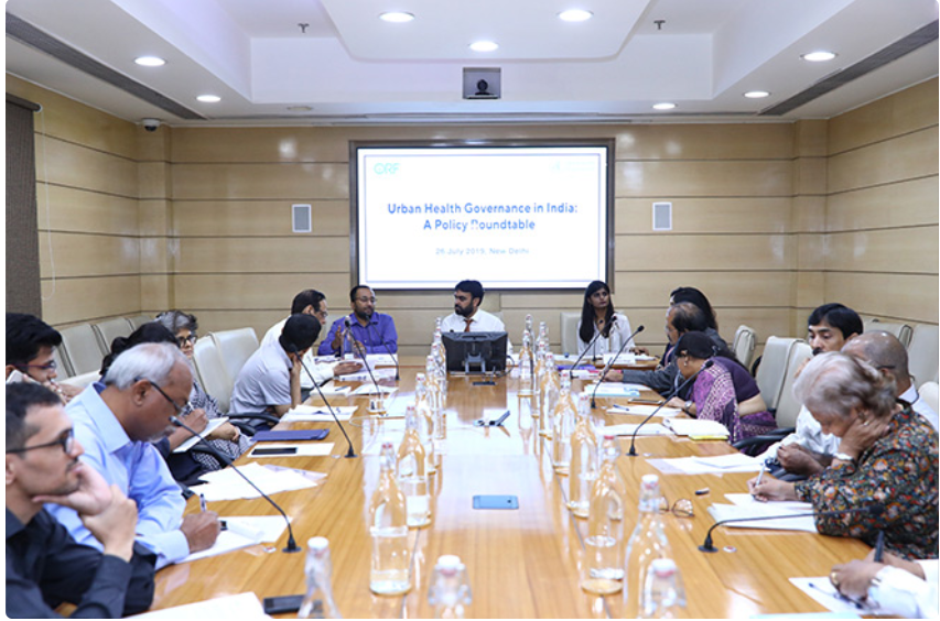 Policy Roundtable: Urban Health Governance in India