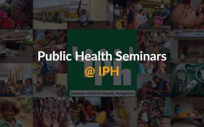 IPH Seminar: Understanding health exposures and vulnerabilities of women workers.
