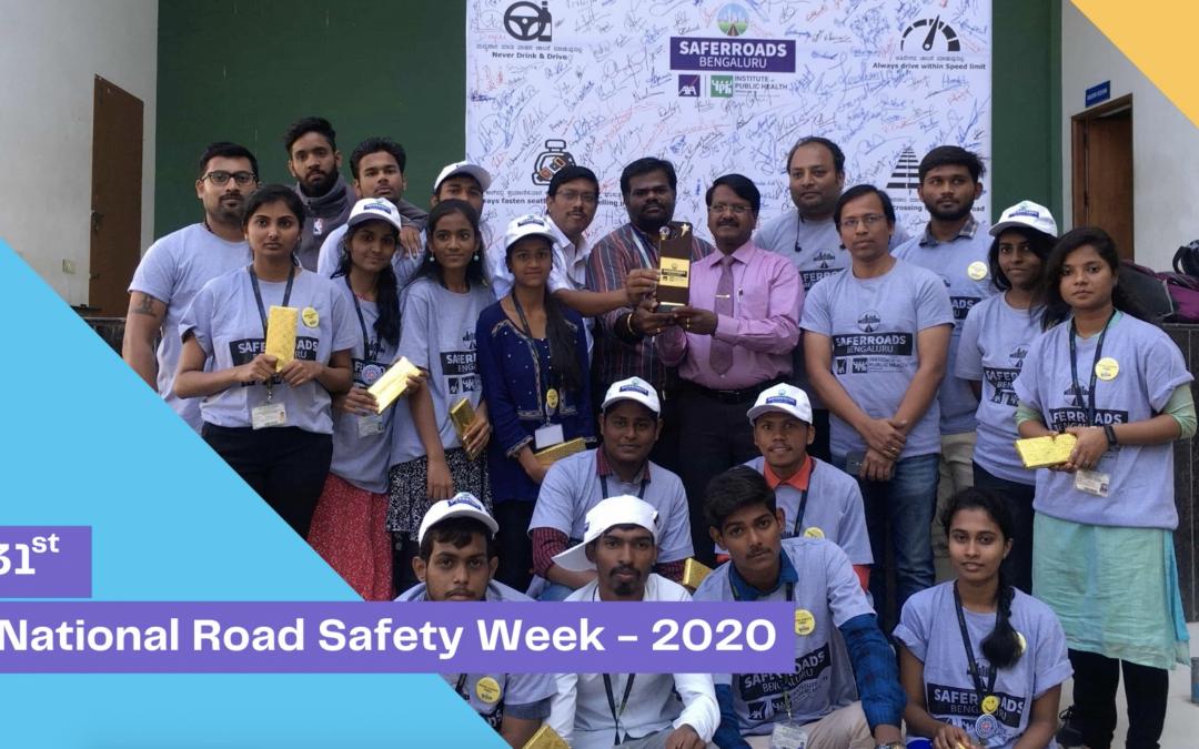 31st National Road Safety Week – January 2020