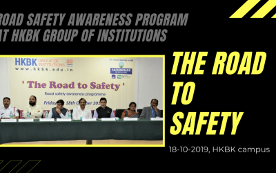 THE ROAD to SAFETY – Awareness program on Road safety